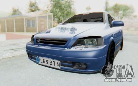 Opel Bertone para GTA San Andreas vista direita