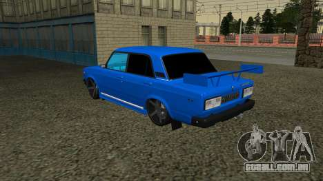 VAZ 2107 Esporte para GTA San Andreas vista interior