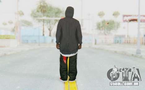 TheWOLF Skin para GTA San Andreas terceira tela