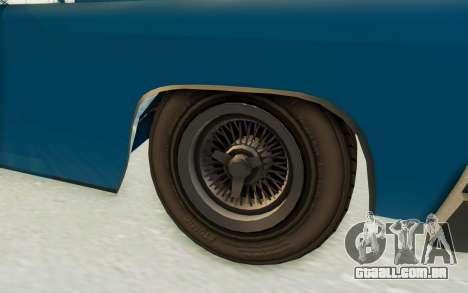 GTA 5 Declasse Voodoo PJ para GTA San Andreas vista traseira
