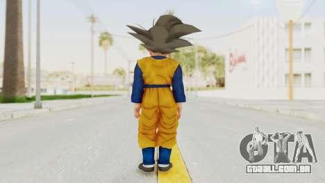 Dragon Ball Xenoverse Goten SJ para GTA San Andreas terceira tela