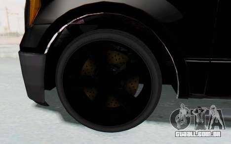 Ford F-150 JDM para GTA San Andreas vista traseira