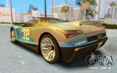 GTA 5 Grotti Cheetah SA Lights para o motor de GTA San Andreas