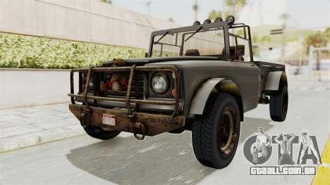 GTA 5 Canis Bodhi Trevor IVF para GTA San Andreas vista direita