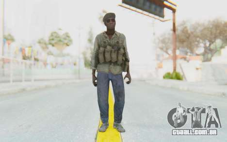 CoD MW3 Africa Militia v4 para GTA San Andreas segunda tela