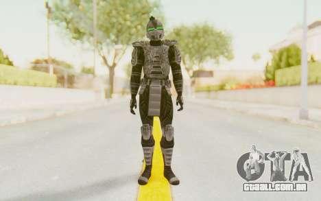Cylar MKP para GTA San Andreas segunda tela