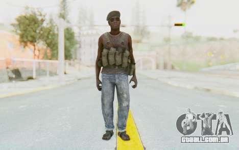 CoD MW3 Africa Militia v1 para GTA San Andreas segunda tela