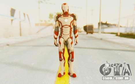 Marvel Heroes - Ironman Mk42 para GTA San Andreas segunda tela