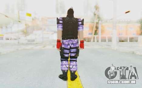 Kazuya Mishima (Ops Suit) para GTA San Andreas terceira tela