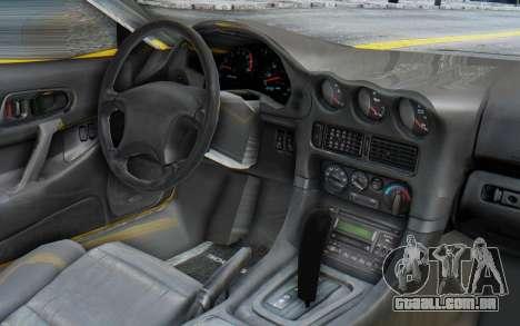 Mitsubishi 3000GT 1999 para GTA San Andreas vista direita