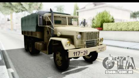 AM General M35A2 Sand para GTA San Andreas vista direita