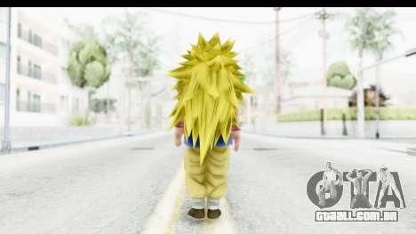 Dragon Ball Xenoverse Goku GT Adult SSJ3 para GTA San Andreas terceira tela