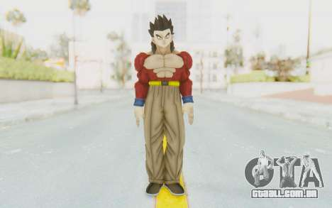 Dragon Ball Xenoverse Gohan SSJ4 para GTA San Andreas segunda tela