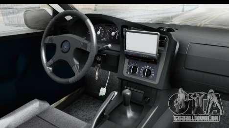 Opel Astra G Variant Polizei Hessen para GTA San Andreas vista interior