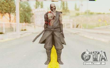 Dead Or Alive 5 Last Round - Raidou para GTA San Andreas segunda tela