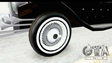 Unique V16 Phaeton VIP para GTA San Andreas vista traseira