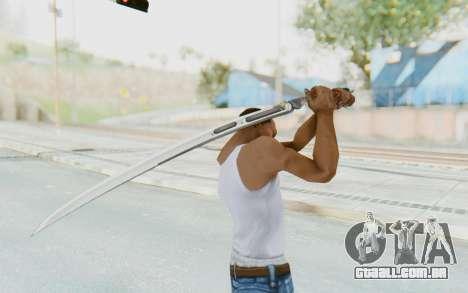 Yuri Katana para GTA San Andreas terceira tela