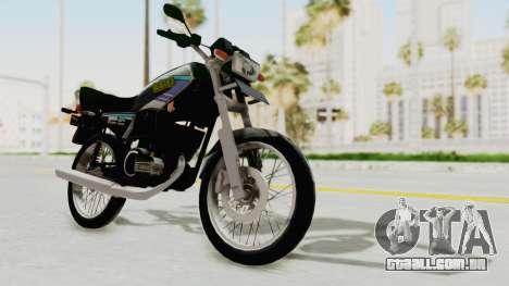 Yamaha RX King 135 1993 para GTA San Andreas vista direita
