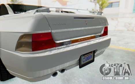 GTA 5 Imponte DF8-90 para GTA San Andreas vista interior