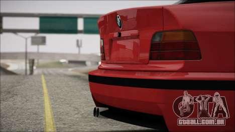 BMW E36 Stance para vista lateral GTA San Andreas