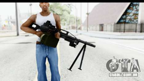 Kalashnikov PK (PKM) Holo para GTA San Andreas