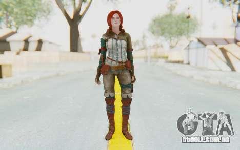 The Witcher 3 - Triss Merigold WildHunt Outfit para GTA San Andreas segunda tela