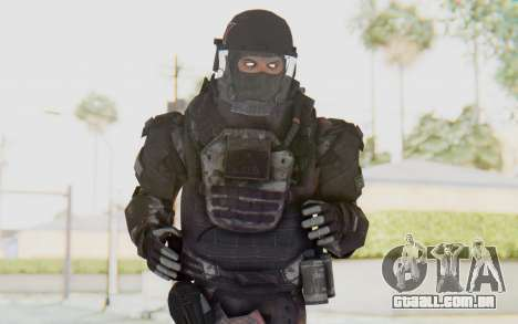 COD MW2 Russian Paratrooper v3 para GTA San Andreas