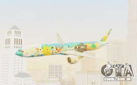 Boeing 777-300ER ANA JA754A - Peace Jet para GTA San Andreas