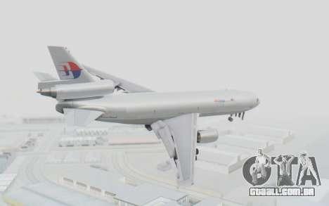 DC-10-30F MASkargo para GTA San Andreas esquerda vista