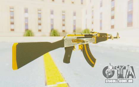 CS:GO - AK-47 Carbon Edition para GTA San Andreas segunda tela