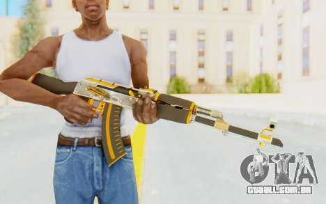 CS:GO - AK-47 Carbon Edition para GTA San Andreas terceira tela
