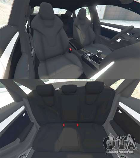 GTA 5 Audi A4 2009 volante