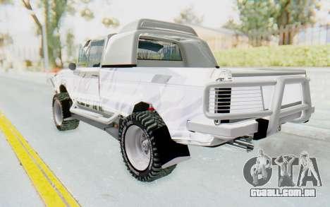 Ikco Super Peykan Pickup para GTA San Andreas esquerda vista