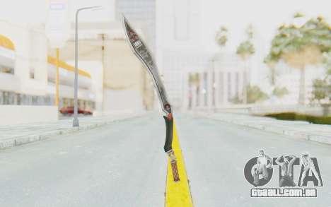 Nata Weapon para GTA San Andreas terceira tela