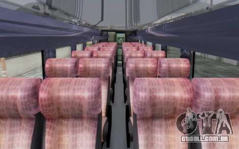 Marcopolo Cyberjaya DTS para GTA San Andreas vista traseira