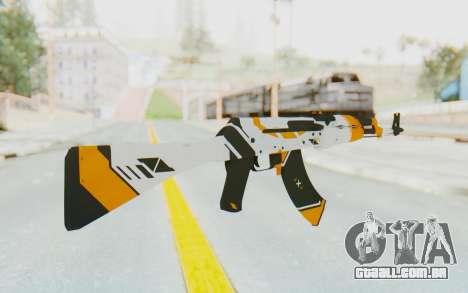 CS:GO - AK-47 Asiimov para GTA San Andreas segunda tela