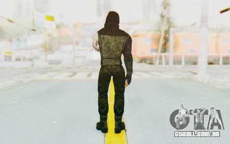 Bucky Barnes (Winter Soldier) v2 para GTA San Andreas terceira tela