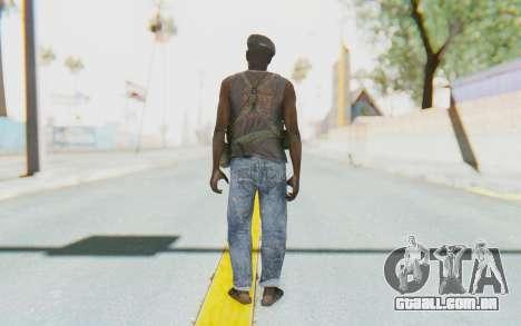 CoD MW3 Africa Militia v1 para GTA San Andreas terceira tela