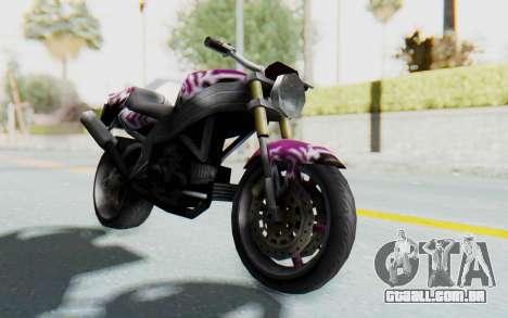 FCR-900 Custom v2 para GTA San Andreas vista direita