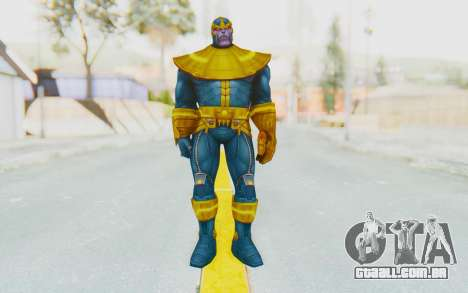 Marvel Future Fight - Thanos para GTA San Andreas segunda tela