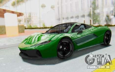 GTA 5 Progen T20 Devil PJ para GTA San Andreas