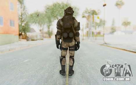 Federation Elite LMG Desert para GTA San Andreas terceira tela