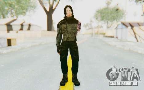 Bucky Barnes (Winter Soldier) v2 para GTA San Andreas segunda tela