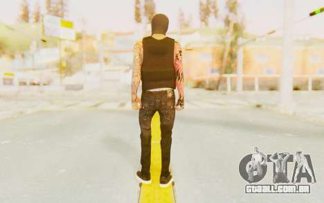 Punisher from GTA Online para GTA San Andreas terceira tela