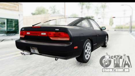 Nissan 240SX 1994 v2 para GTA San Andreas esquerda vista