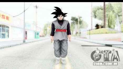 Dragon Ball Xenoverse Goku Black para GTA San Andreas segunda tela