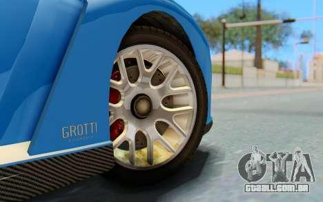 GTA 5 Grotti Cheetah SA Lights para GTA San Andreas vista direita