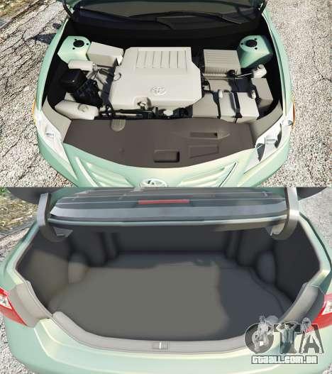 GTA 5 Toyota Camry V40 2008 [tuning] vista lateral direita