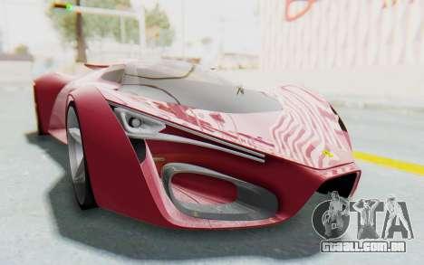 Ferrari F80 Concept para GTA San Andreas vista direita