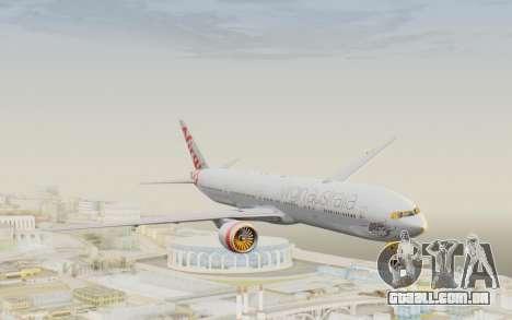 Boeing 777-300ER Virgin Australia v2 para GTA San Andreas